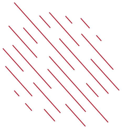 decorative vertical red lines