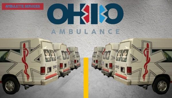 Air ambulance illustration